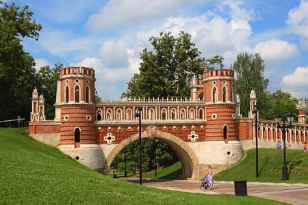figured: The figured bridge; Tsaritsyno Editorial