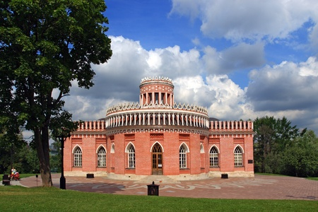 the tsaritsyno: The Kavalersky case, Tsaritsyno, Moscow