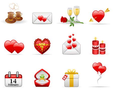 Le jour de la Saint-Valentin ic�ne d�finie