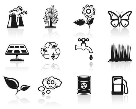 Environment icon set  Stock Vector - 6797065