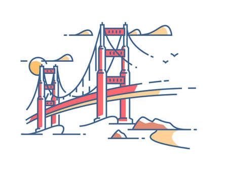 Golden Gate Bridge Zdjęcie Seryjne - 79448735