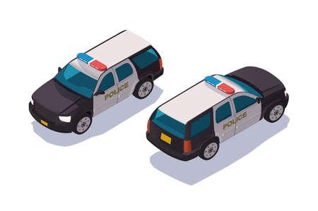 Urban modern police car for protection of people. Reklamní fotografie