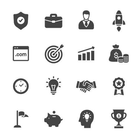 Business-Ikonen  Standard-Bild - 48879996