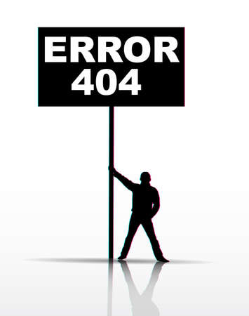 404 Page not found Stock Vector - 9842614