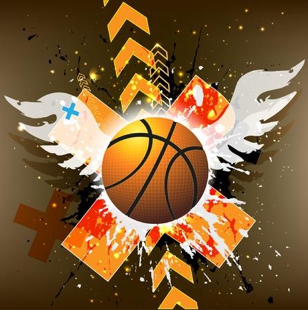 basketball advertising poster. Stock Vector - 9842753