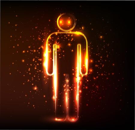 male symbol: men symbol