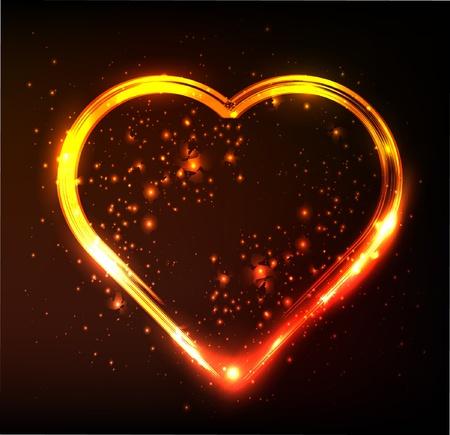 heart - symbol of love Ilustração