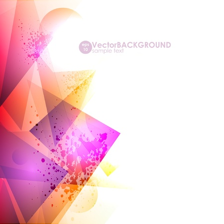 abstract high-tech background Stock Vector - 9842661