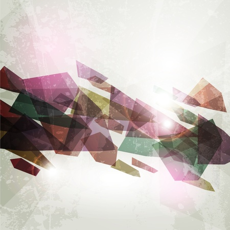 hi tech background: 3d bright abstract background.  Illustration