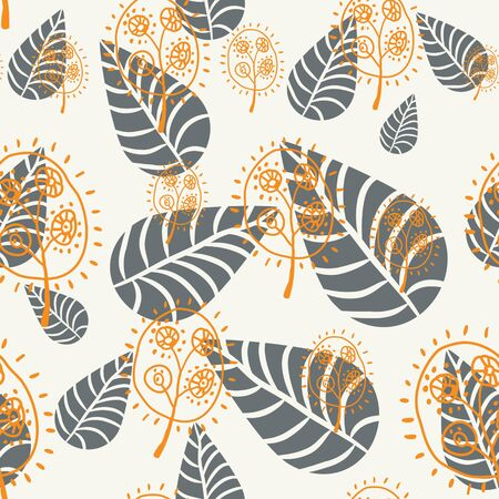 floral seamless pattern Stock Vector - 10085589