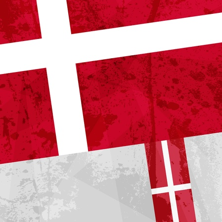 most popular: Abstract pattern for design. Retro paper background. flag of Denmark Illustration
