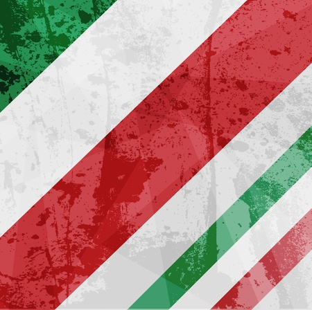 Abstract pattern for design. Retro paper background. Flag of Italy Vector