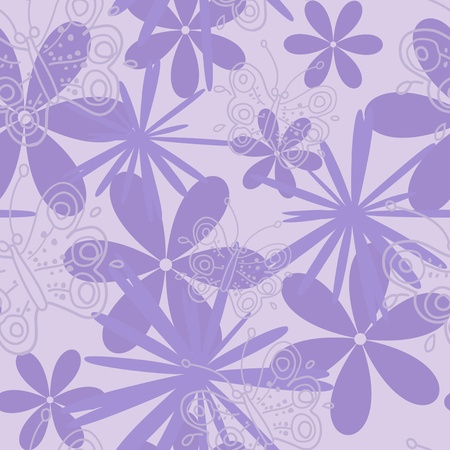 floral seamless pattern Stock Vector - 10119661