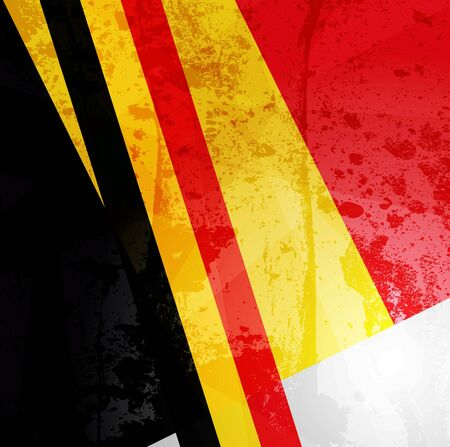 most popular: Abstract pattern for design. Retro paper background. flag of Belgium Stock Photo