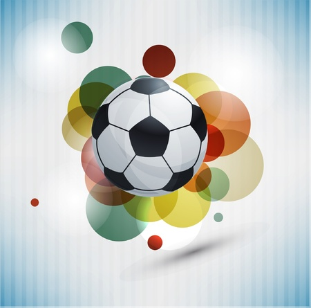 Soccer design background Vector