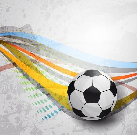 sports fan: Soccer design background