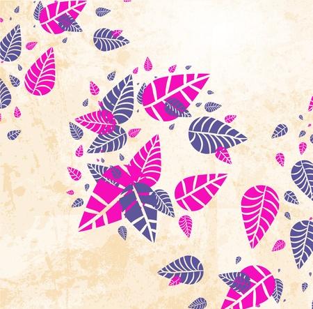 leaves design Иллюстрация