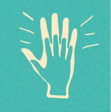 manos aplaudiendo: Aplausos. Vector fondo