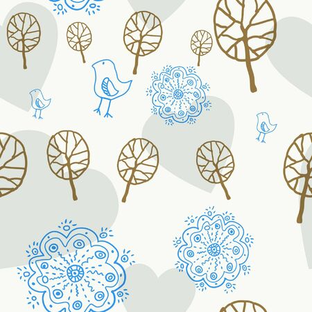 floral seamless pattern Stock Vector - 10271053