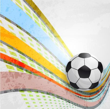 Soccer design background Vector