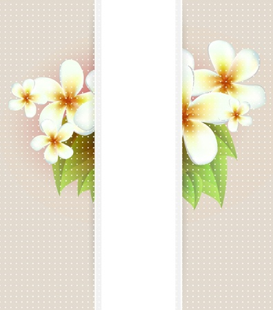 watercolour: Vector flowers background
