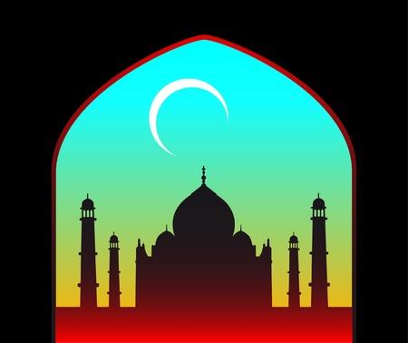 masjid: ramadan background