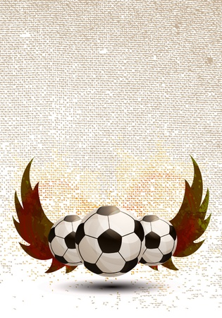 soccer: Soccer design background