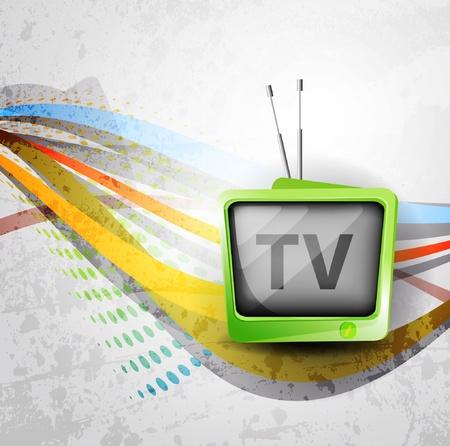 Retro TV background