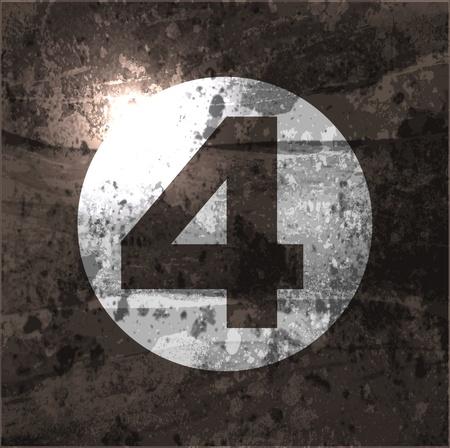 numero nueve: Resumen de antecedentes retro con el número de