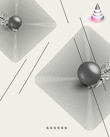 futuristic art background