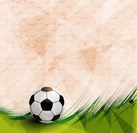 football design on artistic background Vector