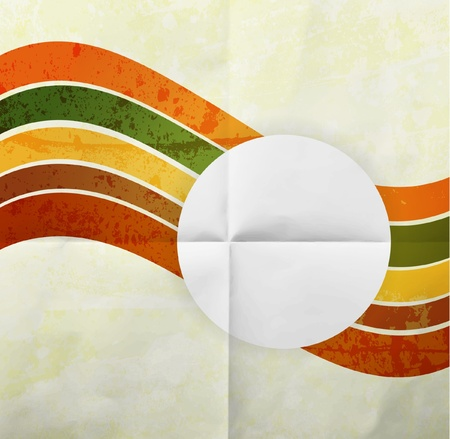 free abstract: Abstract pattern for design. Retro paper background Illustration