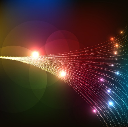 arte optico: Resumen fibras ópticas