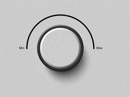 volume button Ilustrace