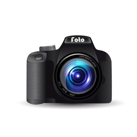 Digital SLR camera Ilustrace