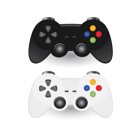 controller: Illustration of Game pad Joystic