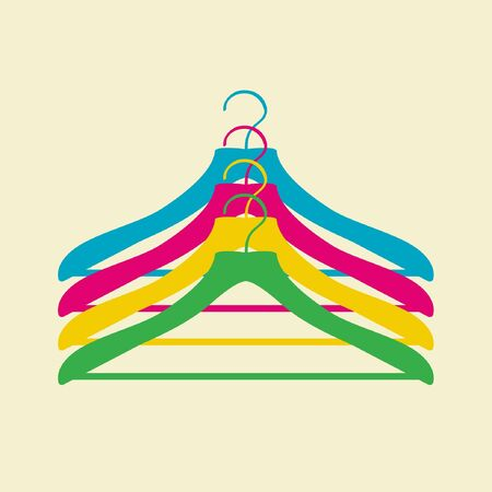 clothes hanger Stock Vector - 11102636