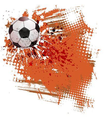 Soccer field Stock Vector - 11103820