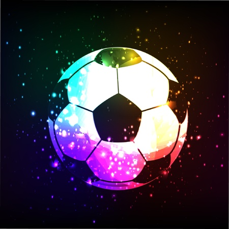 football fan: Soccer design background