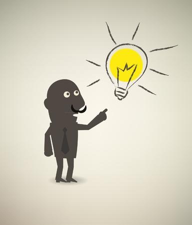 illustration of idea bulb Stock Vector - 11418100