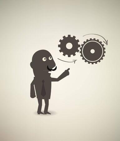 business & concept Illustration
