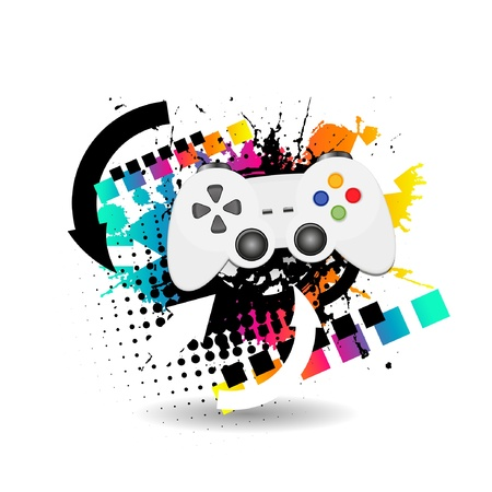 game joypad Stock Vector - 11660222