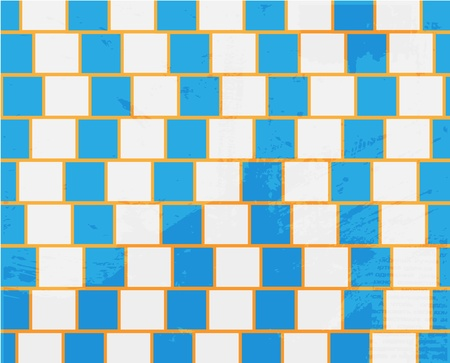appear: Abstract shape design concept. Horizontal lines appear curved, although they are parallel.