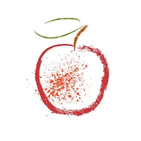 apple leaf: Apple