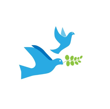 Dove of Peace Vector Vector