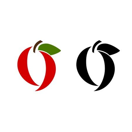 apfel: Apfel-Frucht-Designs