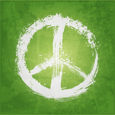 hopes: illustration of peace sign