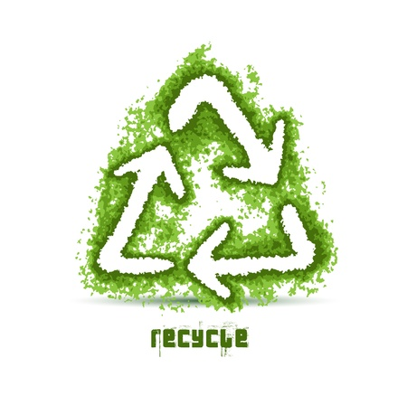 Recycling Symbol Stock Vector - 11809219