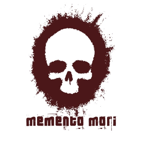 Memento Mori, Skull Stock Vector - 11809231