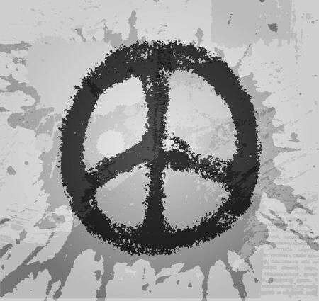 Ilustración de signo de la paz Foto de archivo - 11809233